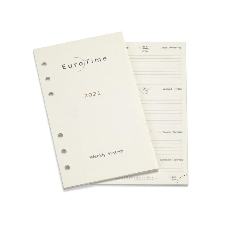2021 Diary Insert for Bijou Personal Organiser