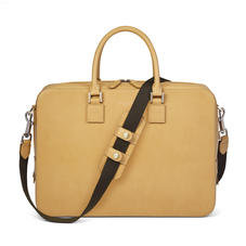 Small Mount Street Bag in Smooth Light Tan