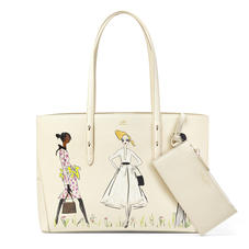 Giles x Aspinal (Regent Tote - Three Girls Print)