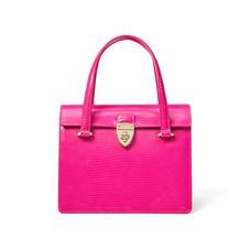 Lady P Bag in Penelope Pink Silk Lizard