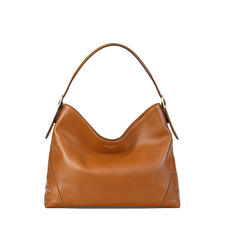 Hobo Bag in Smooth Tan