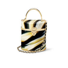 Pandora Bag in Marble Plexiglass