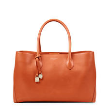 London Tote in Marmalade Pebble