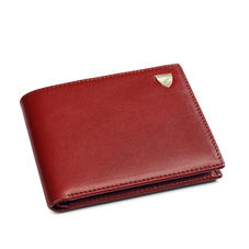 8 Card Billfold Wallet in Smooth Cognac