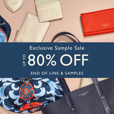 Exclusive Sample Sale