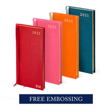 Slim Pocket Leather Diaries