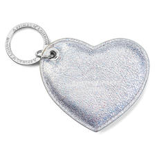 Heart Keyring in Smooth Shooting Star