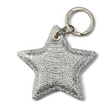 Leather Star Keyring