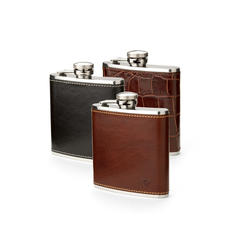 5oz Leather Hip Flasks