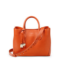Midi London Tote in Marmalade Pebble