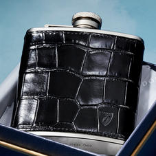 Men's Leather Hip Flasks