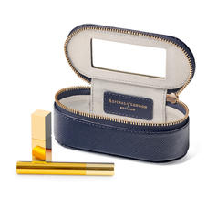 Handbag Tidy All in Navy Saffiano