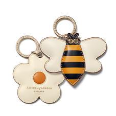 Bee & Daisy Keyrings