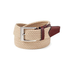Marco Elasticated Belt in Sand