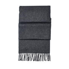 Pure Cashmere Scarf in Dark Grey