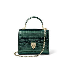 Midi Mayfair Bag in Dragonfly Croc Print