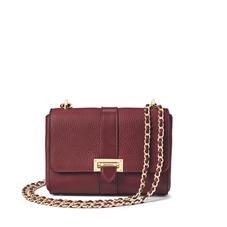 Lottie Bag in Bordeaux Pebble