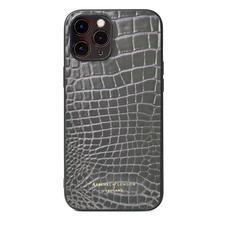 iPhone 12 Pro Max Case in Storm Patent Croc