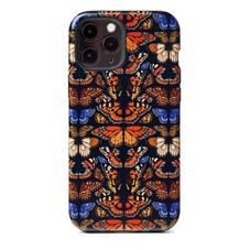 Emily Carter iPhone 12 Pro Max Case - Black British Butterfly