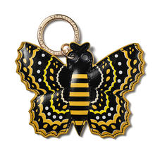 Butterfly Keyring in Smooth Meadow