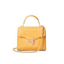 Midi Mayfair Bag in Meadow Patent Croc