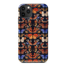 Emily Carter iPhone 11 Pro Max Case - Black British Butterfly