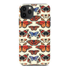 Emily Carter iPhone 11 Pro Max Case - Cream British Butterfly