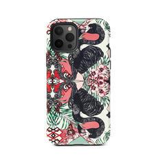 Emily Carter iPhone 12/12 Pro Case - Flamingo