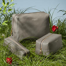 Leather Makeup Bags & Cosmetic Cases