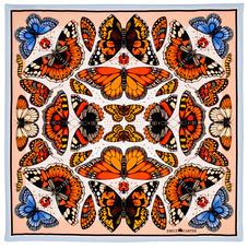 Emily Carter Silk Scarf - British Butterfly