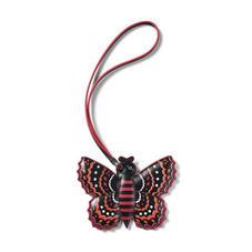Butterfly Charm in Smooth Cherry