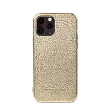 iPhone 12 / 12 Pro Case in Champagne Pebble