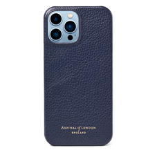 iPhone 13 Pro Max Case in Navy Pebble