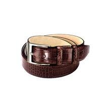 Croc Leather Belts