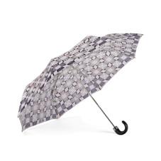 Ladies Marylebone Compact Umbrella in Monochrome