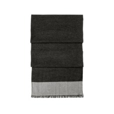 Essential Lightweight Cashmere Blend Scarf in Charcoal Grey