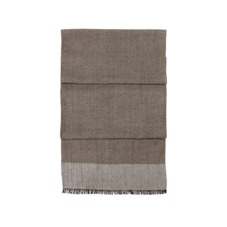 Essential Lightweight Cashmere Blend Scarf in Soft Taupe