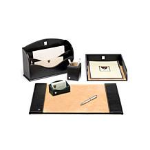 Aspinal Leather Desk Set