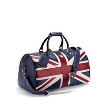 Brit Leather Travel Bag