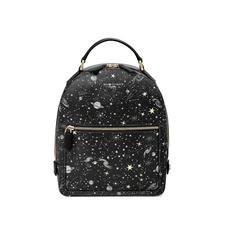 Constellation Backpack in Black Constellation Print