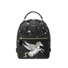 Pegasus Backpack in Black Pegasus & Constellation Print