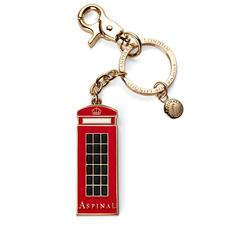 London Telephone Box Key Ring