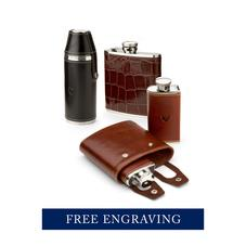 Leather Hip Flasks