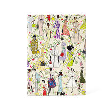 Giles x Aspinal (A5 Day to Page Diary - Girls Print)
