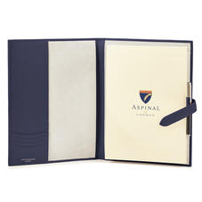 A4 Padfolio in Smooth Bluemoon