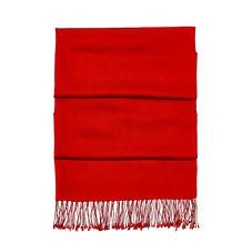 Essential Silk & Cashmere Pashmina in Scarlet