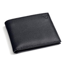 Billfold Wallet in Black Pebble