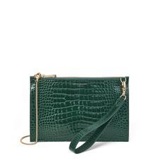 Zip Clutch Bags