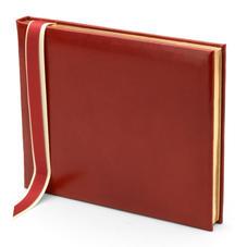Classic Guest Book in Red