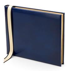 Classic Guest Book in Sapphire Blue